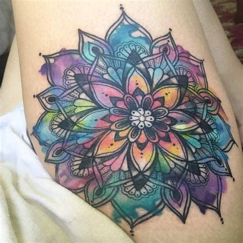 tattoo lotus flower mandala 25 best ideas about mandala flower tattoos on pinterest