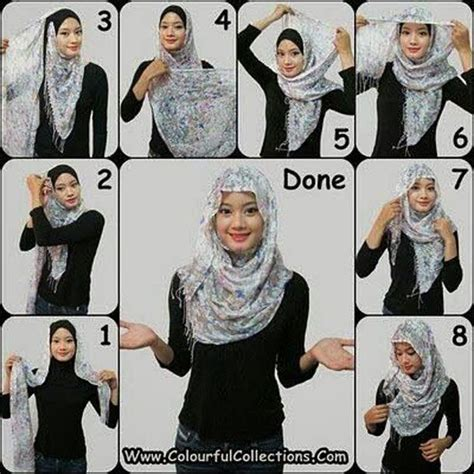 tutorial hijab simple sehari2 17 best images about hij b my pride on pinterest simple