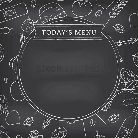 today s today s menu vector image 1620873 stockunlimited