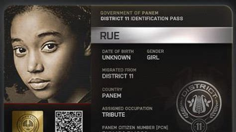 the hunger games s rue littlest prankster on screen and