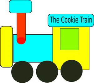 Cookie train clip art at clker com vector clip art online royalty
