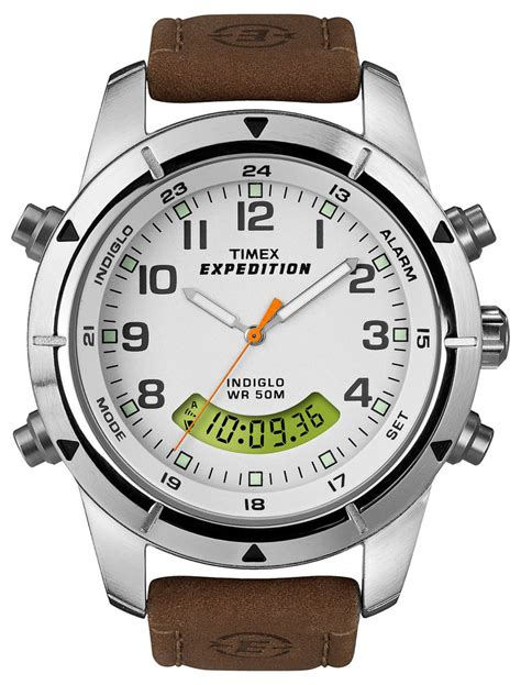 timex t49828 s expedition analog digital metal combo