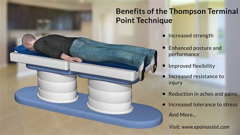 chiropractic drop table technique thompson terminal point technique or thompson drop table