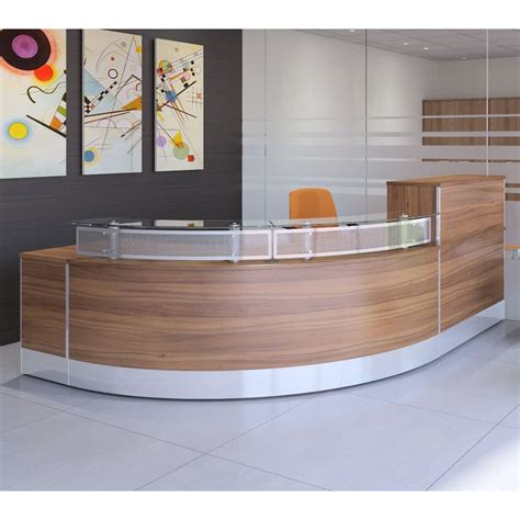 Curved Reception Desk X Range Curved Reception Desk