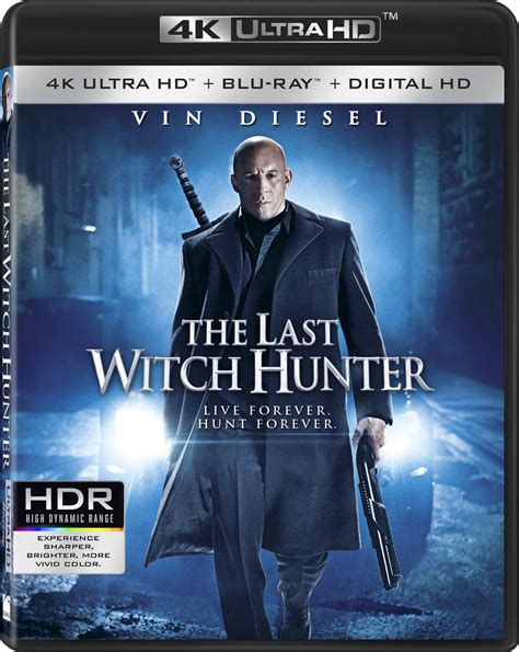film blu ray 4k the last witch hunter dvd release date february 2 2016