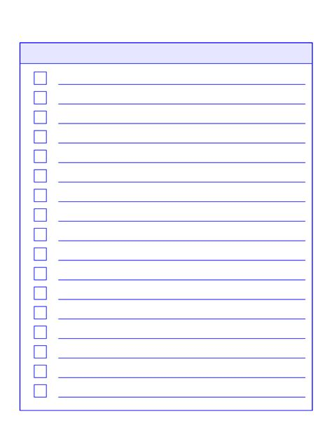 things to do list template edit fill sign online