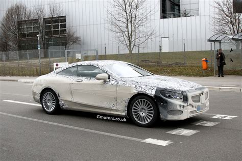 new mercedes s class 2015 2015 mercedes s class coupe spied again