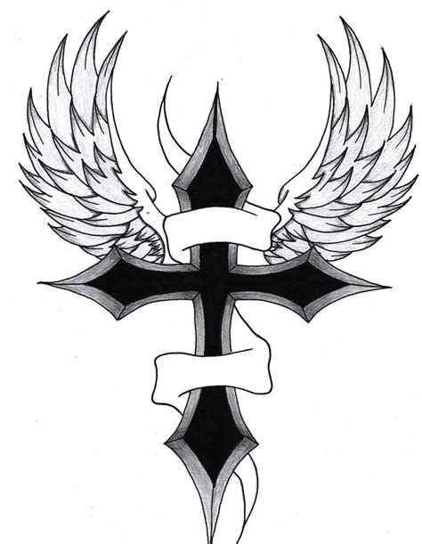 cross tattoos drawings 25 best cross tattoos designs for echomon