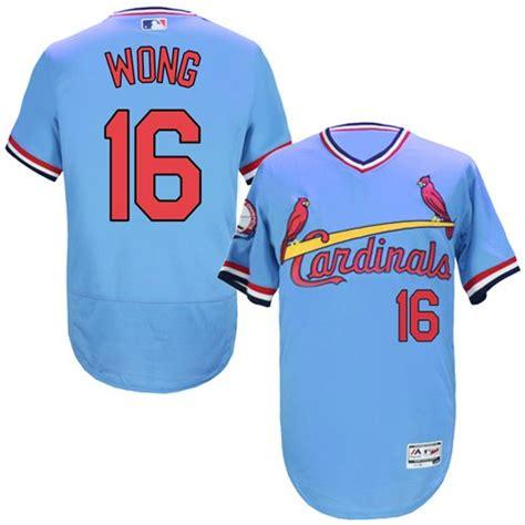 light blue cardinals jersey 16 st louis cardinals kolten wong authentic jersey
