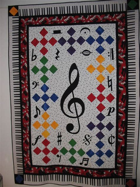 quilt pattern music notes 74 best images about quilts music theme on pinterest