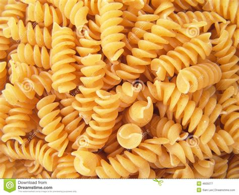 Macroni Spiral 100 Gr twisted spiral noodle pasta rotini royalty free stock photography image 4605077