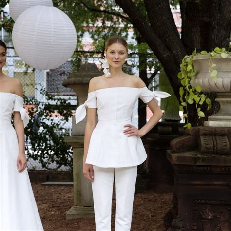 8 City Hall Wedding Dresses from Bridal Fashion Week   Brides