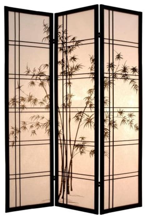 Chinese Screens Room Dividers - bamboo tree room divider asian screens and room dividers by hayneedle