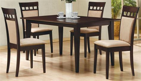 Cappuccino Dining Room Furniture Mix Match Cappuccino Dining Room Set From Coaster 100771 Coleman Furniture