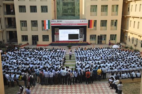 Gl Bajaj Mba by Gl Bajaj Institute Of Management Research Auditorium
