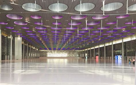 art and design center qatar doha exhibition and convention center a new global