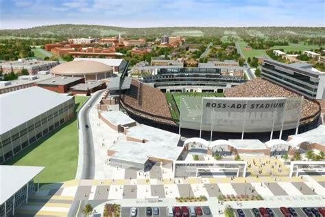 ross ade stadium lights purdue football master plan football performance complex