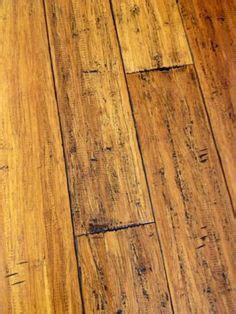 Distressed Honey Bamboo Flooring - home decorators collection strand woven distressed