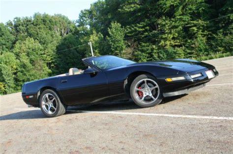 black c4 corvette find used chevy 1994 c4 black corvette convertible in