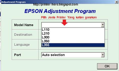 aplikasi resetter epson l210 cara memperbaiki dan restart printer epson l360 all