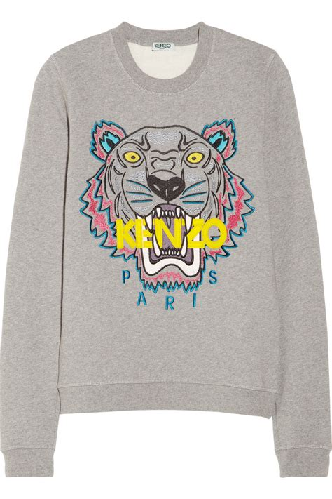 Sweater Kenzo Tiger Splurge Joan Smalls S Balmain 2014 Fashion Show