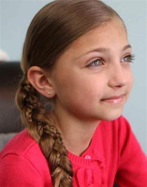 herringbone accent braids children s hairstyles 20 simple braids for kids