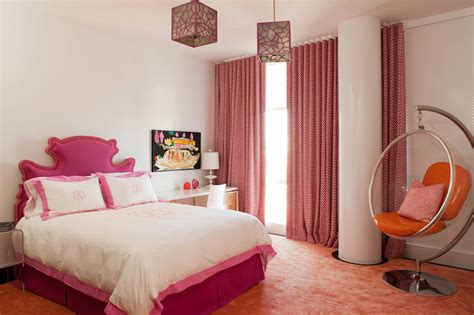 orange and pink bedroom ideas pink and orange girls bedroom design ideas