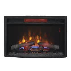 Fireplace Insert Electric Classicflame 25 In Spectrafire Plus Infrared Electric Fireplace Insert 25ii310gra