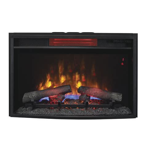 Electric Fireplace Insert Classicflame 25 In Spectrafire Plus Infrared Electric Fireplace Insert 25ii310gra