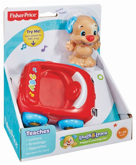 Fisher Price Laugh Learn Puppys Learning Car X2139 fisher price laugh learn puppy s learning car