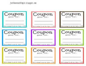 For kids just sweet and simple mother s day coupons more coupon book