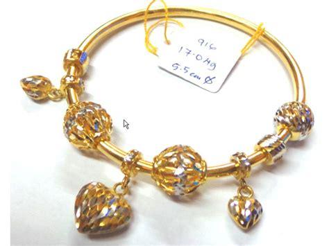 Gelang Cincin Rings Bracelet 1 dge gold system