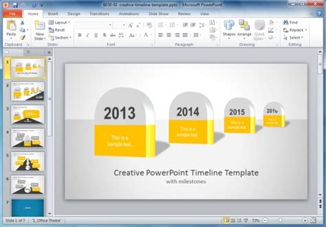 Best Project Management Templates For Powerpoint Creative Powerpoint Templates Free