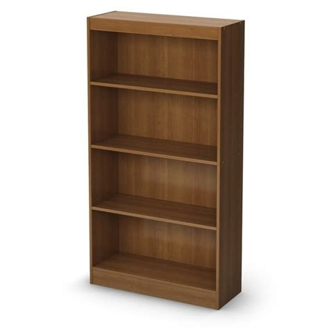 south shore 4 shelf bookcase south shore 4 shelf bookcase in cherry 7276767c