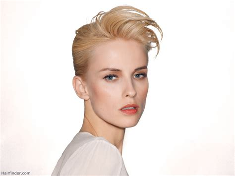 gel hairstyles for medium hair festive short hair styled to the back with gel or wax