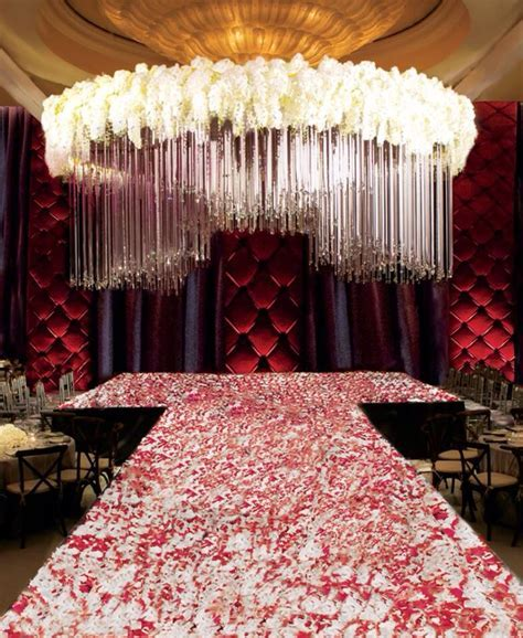 Extreme living chandelier   Drapes and Aisles decor