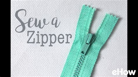 youtube zipper tutorial how to sew a zipper youtube