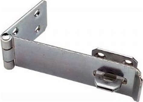 Shed Door Locks Latches by 4 5 Safety Hasp And Staple Zinc Plated Gate Door Shed Latch Lock For Padlocks