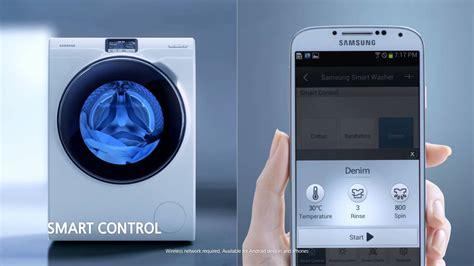 Mesin Cuci Samsung Cristal Blue samsung ww9000 lavadora ww10h9600ew blue 46db