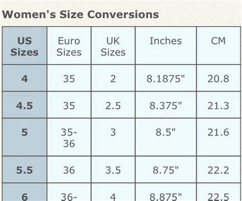 size 9 shoes conversion shoe size conversion my style shoe size