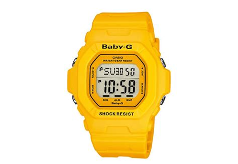 Baby G Casio by Casio Baby G Yellow Bg 5601 9er Watchstrap
