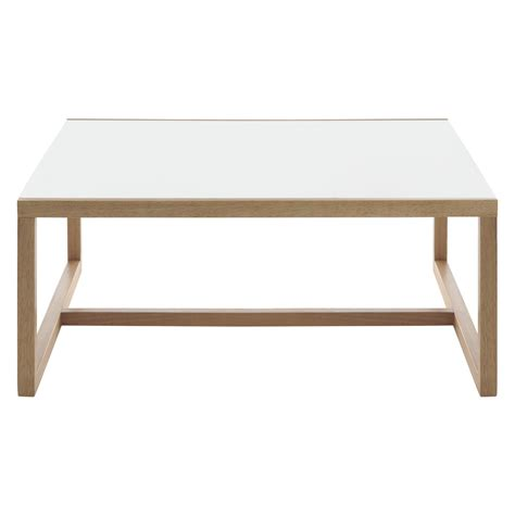 Square White Coffee Table By Product Tables Kenstal White Square Coffee Table