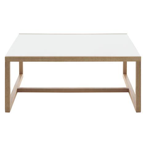 habitat coffee table kenstal white square coffee table buy now at habitat uk
