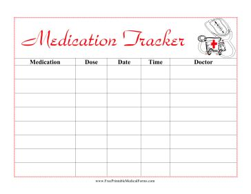 Medication Log Template Free Download Chlain College Publishing Medication Templates Schedule