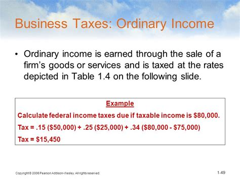 how to calculate federal income tax rates table tax the role and environment of managerial finance ppt video