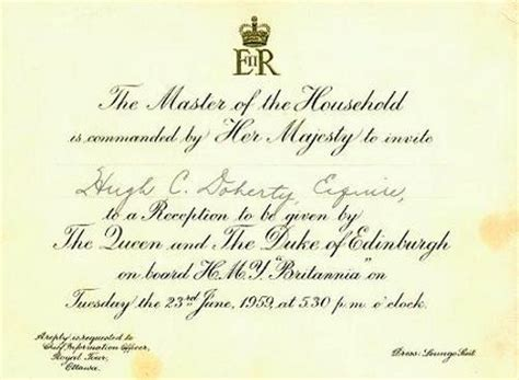 Royal Invitation Letter Exle The Gazette St Seaway Opens