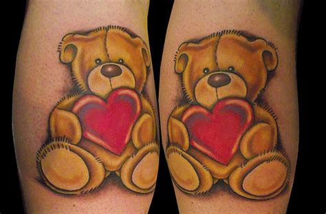 teddy bears tattoos designs forever friends teddy a photo on flickriver