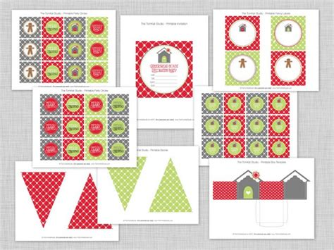 free printable christmas party decorations free christmas printables 15 free downloads