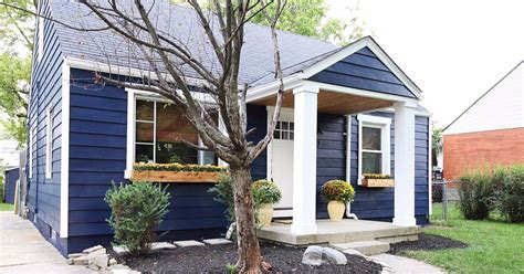 Blue Cottage by Every Detail Is Inside This Remodeled Navy Blue