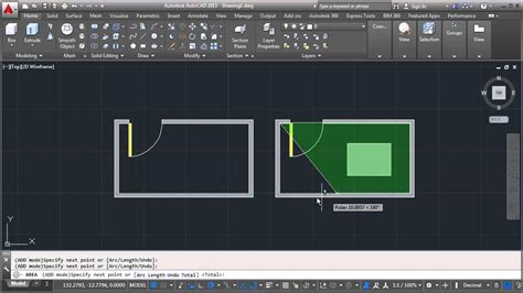 printable area autocad autocad calculate and measuring object area tips youtube